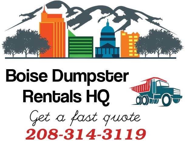 Boise dumpster rental service