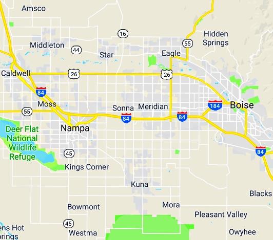 Boise, Idaho – Boise Dumpster Rentals HQ